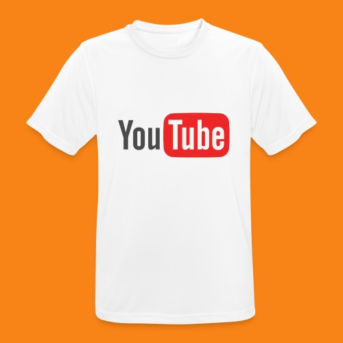 Youtube-logo-2014 - Camiseta hombre transpirable