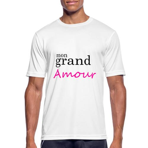 Mon grand amour - T-shirt respirant Homme