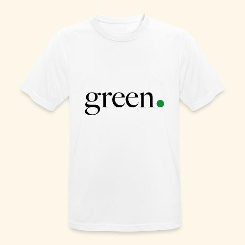 Green - T-shirt respirant Homme