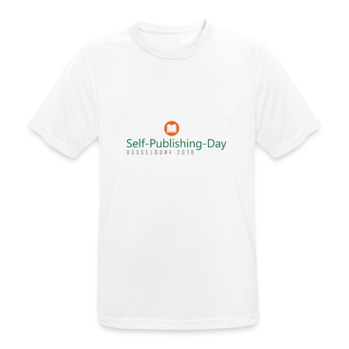 Self-Publishing-Day Düsseldorf 2018 - Männer T-Shirt atmungsaktiv