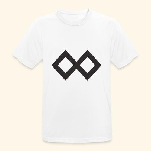 TenX Logo - Männer T-Shirt atmungsaktiv