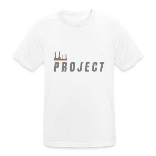 The Project, silver - Men's Breathable T-Shirt
