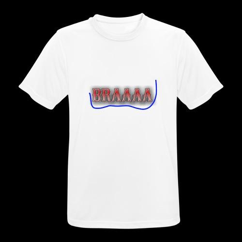 Braaaa - Männer T-Shirt atmungsaktiv