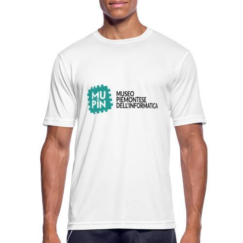 Logo Mupin con scritta - Maglietta da uomo traspirante