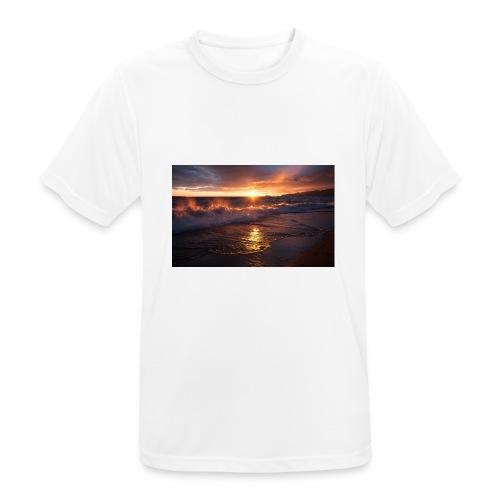 Magic sunset - Camiseta hombre transpirable