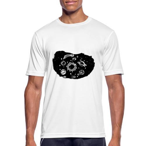 Lo strappo - Maglietta da uomo traspirante