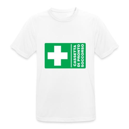 cartello png - Maglietta da uomo traspirante