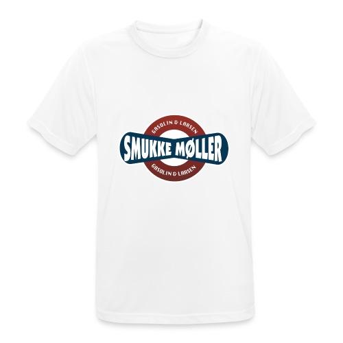 smlogo - Herre T-shirt svedtransporterende