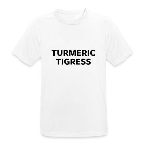 Turmeric Tigress - Men's Breathable T-Shirt