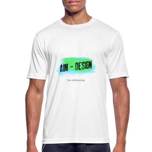 Aim Design - Männer T-Shirt atmungsaktiv