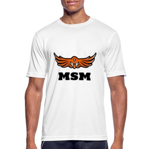 MSM EAGLE - Herre T-shirt svedtransporterende