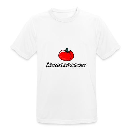 ZONGEDROOGD - Mannen T-shirt ademend actief
