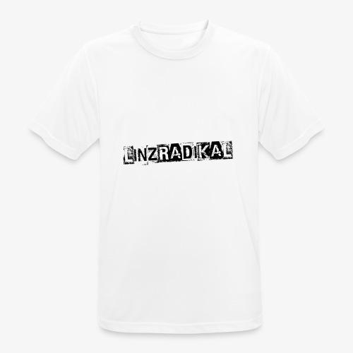 Linzradikal schwarz - Männer T-Shirt atmungsaktiv