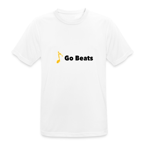 Logo with text - Men's Breathable T-Shirt