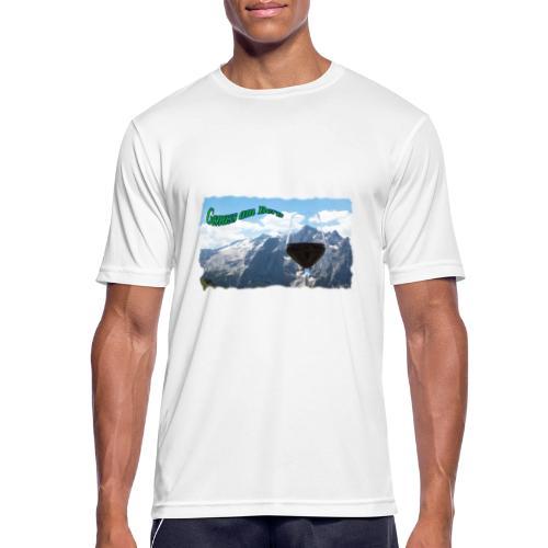 Genuss am Berg - Männer T-Shirt atmungsaktiv