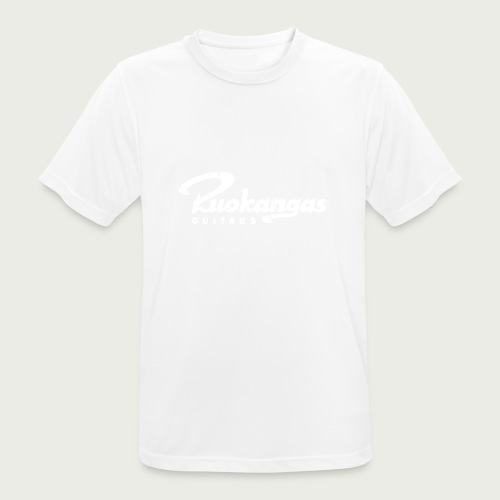 RuokangasGuitars white - Men's Breathable T-Shirt