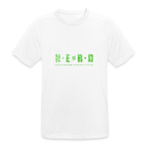 NERD Green - Herre T-shirt svedtransporterende