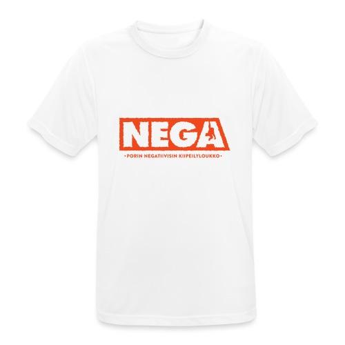 Huppari peruslogo Miehet - miesten tekninen t-paita