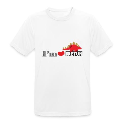 bretun negro - Camiseta hombre transpirable