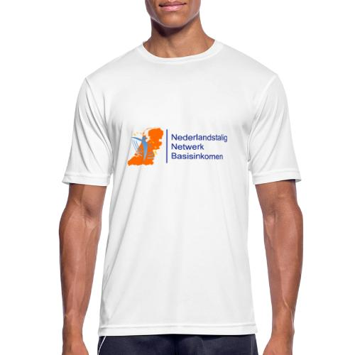 nederlandstalignetwerkbasisinkomen - Mannen T-shirt ademend actief