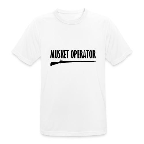 Musket Operator - Männer T-Shirt atmungsaktiv