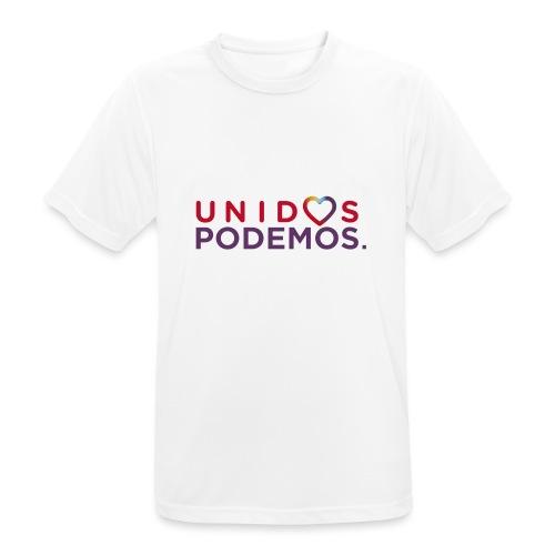 Taza Unidos Podemos 2016 Blanca - Camiseta hombre transpirable