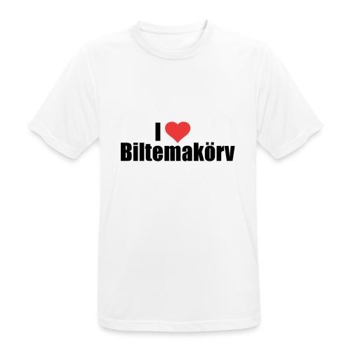 I Love Biltemakörv - Andningsaktiv T-shirt herr