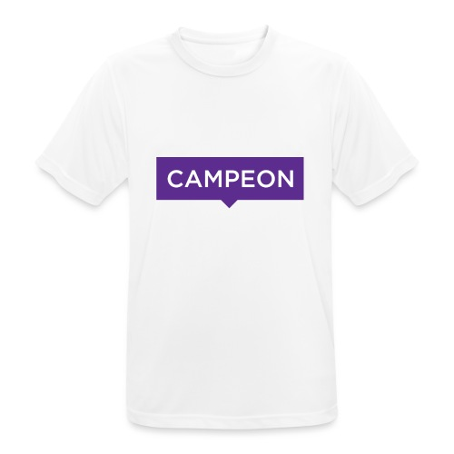 KlassiskCampeon - Andningsaktiv T-shirt herr