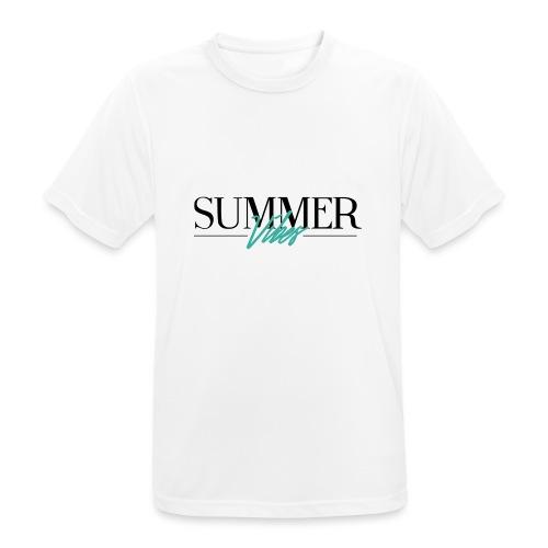 Summer Vibes - Mannen T-shirt ademend actief