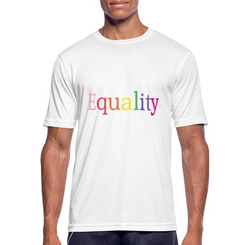 Equality | Regenbogen | LGBT | Proud - Männer T-Shirt atmungsaktiv