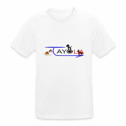 Tayola Black - T-shirt respirant Homme