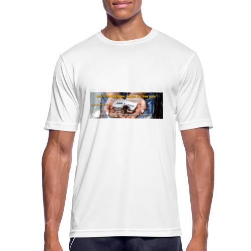 BIW-Cover - Mannen T-shirt ademend actief