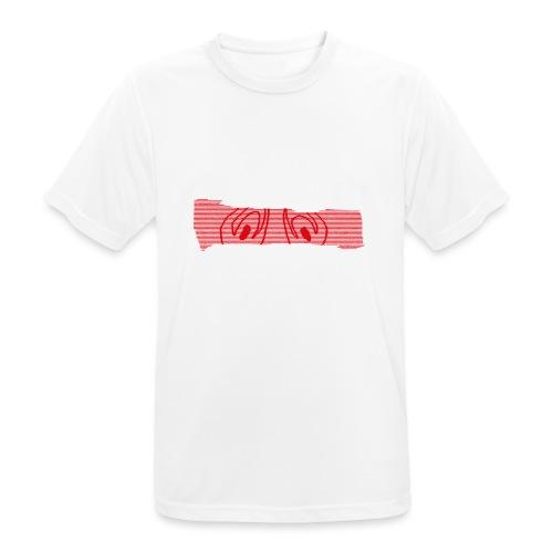 abderyckie linie - Koszulka męska oddychająca