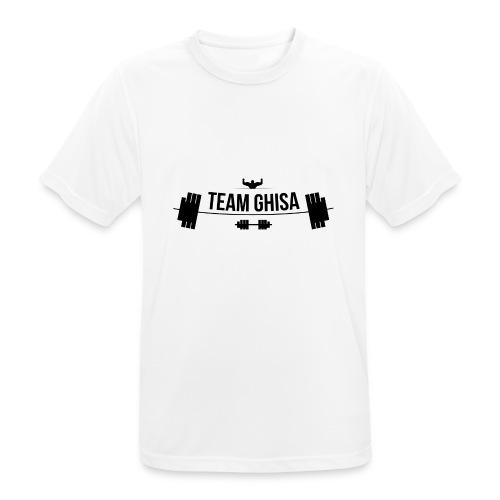 TEAMGHISALOGO - Maglietta da uomo traspirante