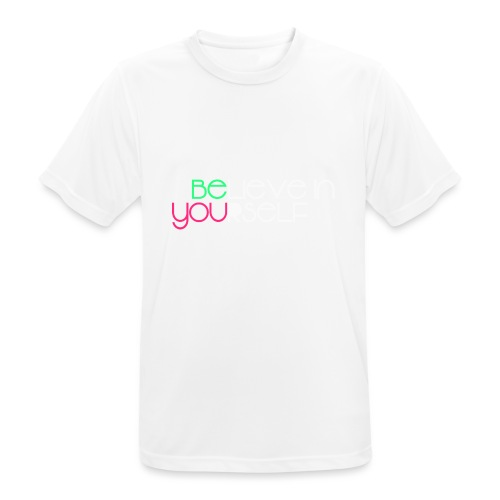 be you - Maglietta da uomo traspirante