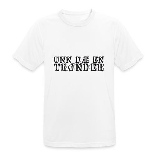 unndae - Pustende T-skjorte for menn