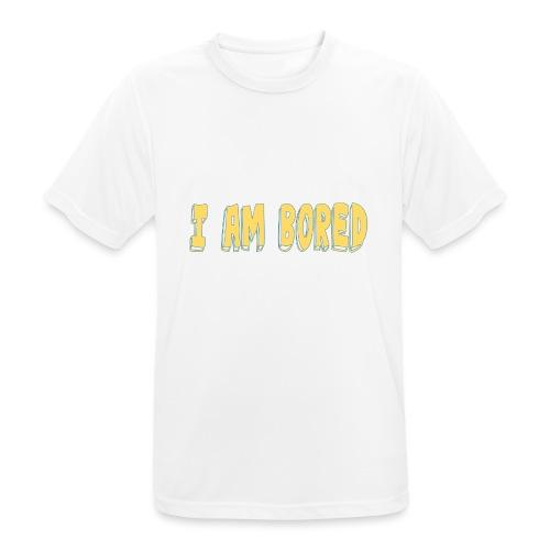 I AM BORED T-SHIRT - Men's Breathable T-Shirt