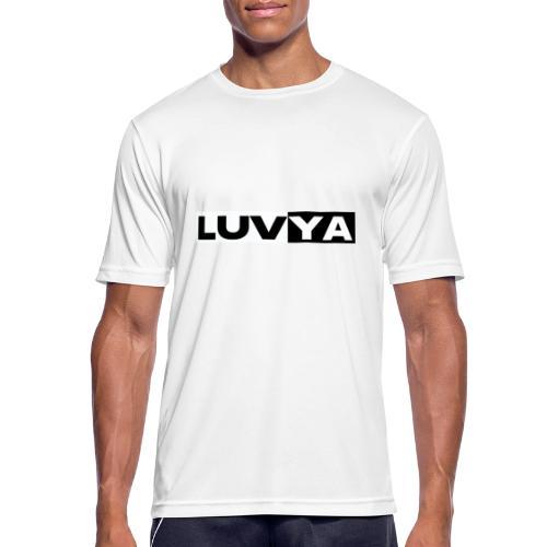 Love - Männer T-Shirt atmungsaktiv
