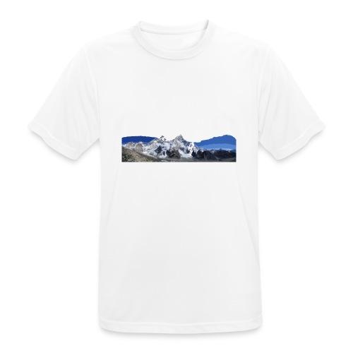MOUNTAINS - Maglietta da uomo traspirante
