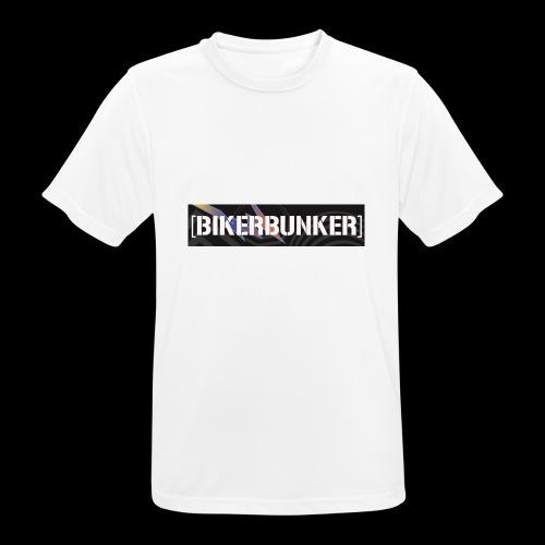 Bikergan - Männer T-Shirt atmungsaktiv