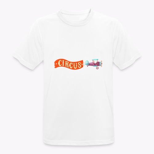 Circus Airplane - Men's Breathable T-Shirt