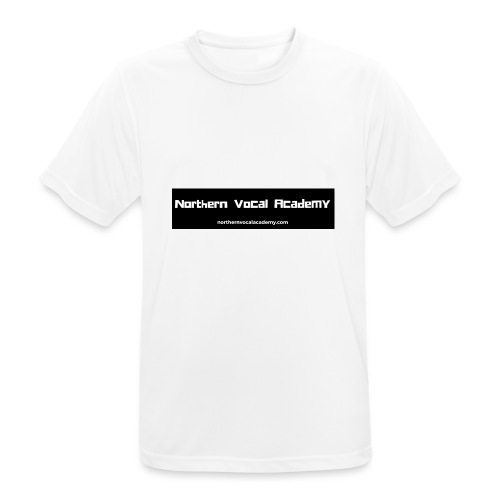 Northern Vocal Academy Logo - Men's Breathable T-Shirt