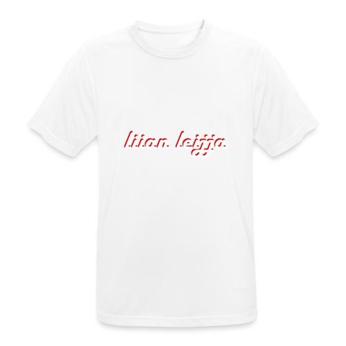 liian leijja - miesten tekninen t-paita