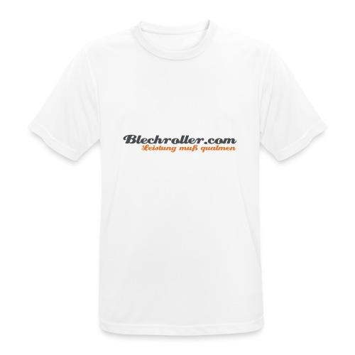 blechroller logo - Männer T-Shirt atmungsaktiv