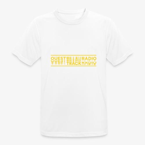 Logo Long jaune - T-shirt respirant Homme