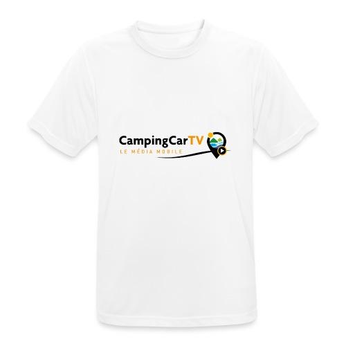 LOGO CCTV - T-shirt respirant Homme