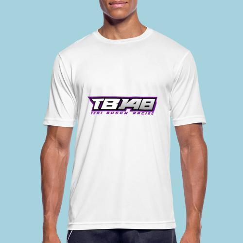 Tob Logo Lila - Männer T-Shirt atmungsaktiv