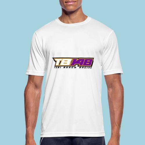 Tobi Logo schwarz - Männer T-Shirt atmungsaktiv