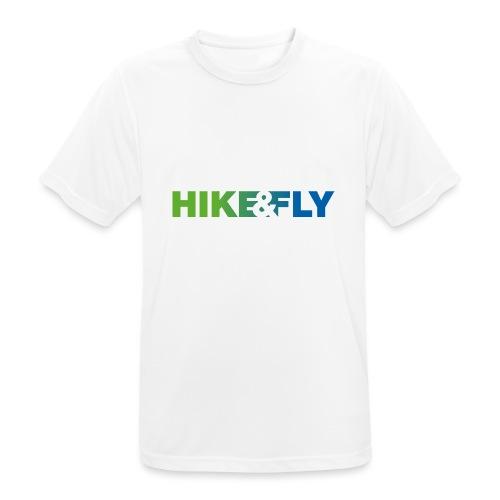 Hike & Fly Paragliding - Männer T-Shirt atmungsaktiv