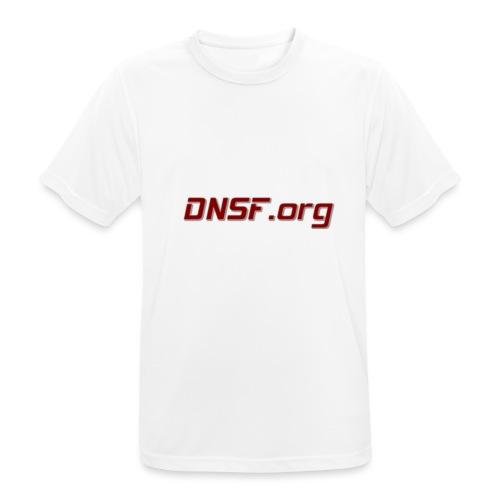 DNSF t-paita - miesten tekninen t-paita